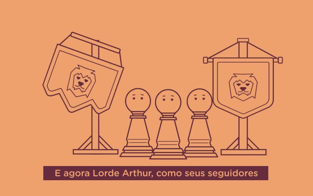 Lord Arthur, registre sua marca!
